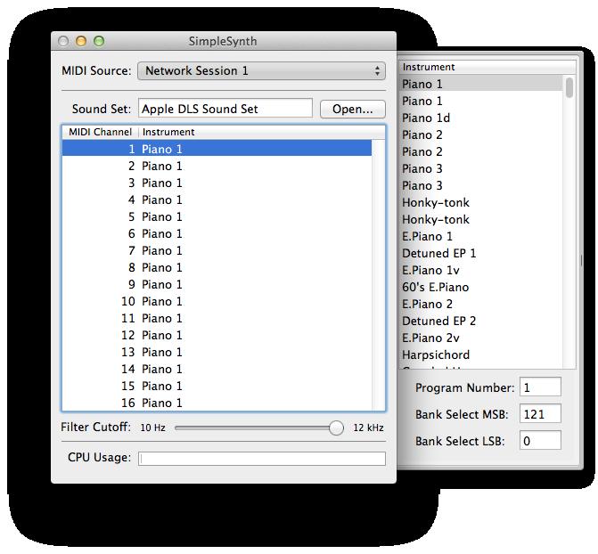 WIFI-MIDI for MaxOSX – Jam Origin